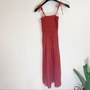 Topshop Elastic Tube Top Dress